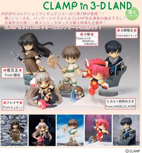 Clamp, Manga, Anime Y Cosillas Japonesas